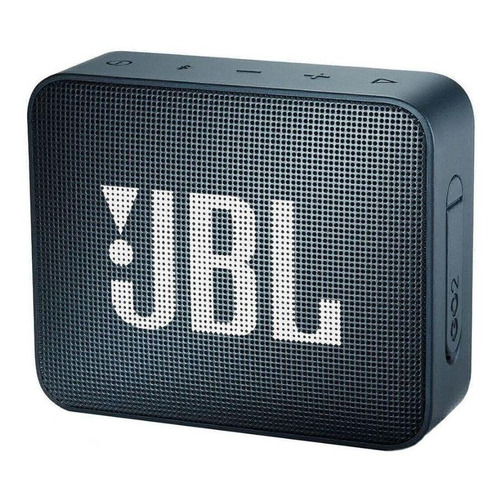 Caixa de som JBL Go 2 portátil com bluetooth slate navy