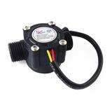 Sensor Flujo Agua 1/2 Medidor Caudalimetro Arduino