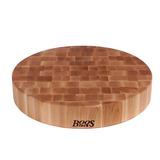 John Boos 18-inch Round Maple Chinese Chopping Block