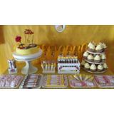 Mesa Dulce - Candy Bar Y Torta Princesas P/30 Personas!