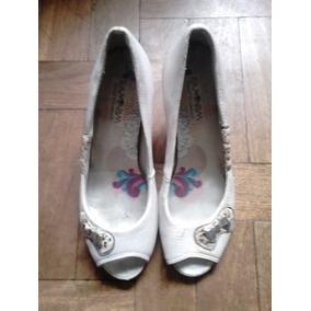 Sapato Peep Toe Ramarim Total Comfort Roupas Femininas