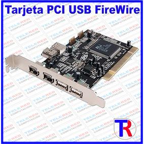 Tarjeta Pci Dual-link Usb 2.0 Firewire Ads Tech Dlx-180