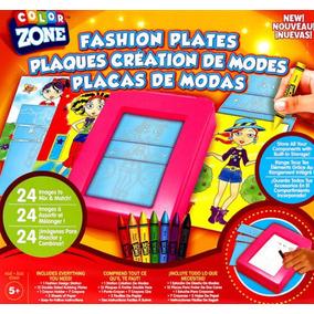 Placas De Moda Para Crear Pintar Modelos Fashion