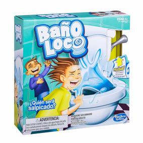 Baño Loco Toilet Trouble 2 O Mas Jugadores Hasbro Oficial