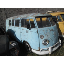 Vw Van Kombi 1950 Barn Door Unica A Venda No Brasil Rarissim