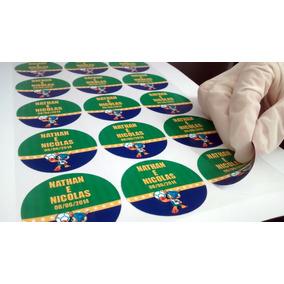Rótulos Adesivos Personalizados Em Cartela - Promoção