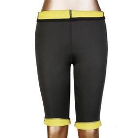 Termo Slim Pantalones Leggins De Sudor Las... (2xl, Blac.)