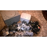Play Station 1 Fat, Slim Psone Set Complet Mas Juegos Memory