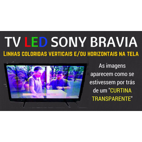Tv 40 Led Sony Bravia Kdl-40ex525 (defeito Colorida)