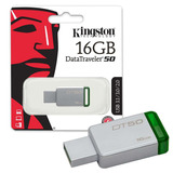 Pendrive Kingston 16gb Dt50 Usb 3.1 T Oficial - Cuotas Envío