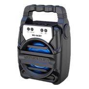 Parlante Portatil Bluetooth Con Luz Radio Usb Tarjeta Sd