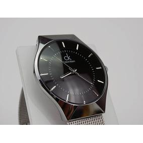 Relógio Calvin Klein K2111.20 Aço Prata Data Novo Ck - Relógios De ... 7bcfef3d29