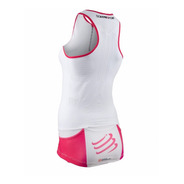 Remera Compresión Compressport Triathlon Ultra Tank Top Muje