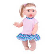 Super Toys Boneca Jenny 31cm Loira Fala E Ensina Inglês