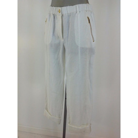 Pantalon Calvin Klein 100% Lino Talle M - Nueno !!!!