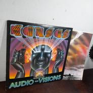 Vinil Lp Kansas Audio Visions Excelente Estado Made Usa