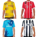 Camisetas De Fútbol Europeo P/ Equipos X Mayor