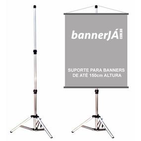 Suporte Para Banner 1,8m - Porta Banner Melhor Preço E Qual.