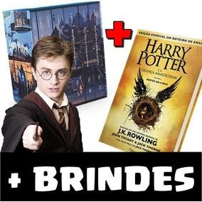 Box Harry Potter Completo - 8 Livros + Brindes