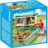 Playmobil 6140 Niño Criadero De Conejos Juguetería El Pehuén