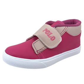 Bota Monte Carlo Polo Club Casual Kids Pink