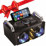 Centro De Sonido Telefunken Portable Bluetooth Fm Usb Regalo
