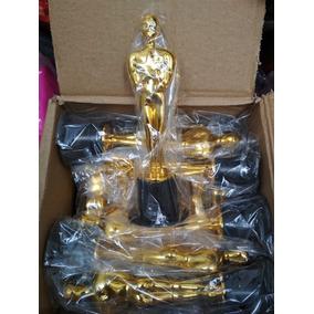 Oscar Estatuilla Premio Dorada Fiesta Batucada Trofeo