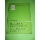 El Metodo Cientifico En Las Ciencias Sociales - A. Critto