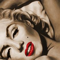 Marilyn Monroe En Bastidor 80x80 Cm Exelente Calidad