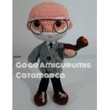 Freud De Colección Amigurumi Crochet ¡