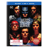 Pelicula Justice League Bluray/dvd/hd Batman Superman Flash