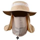 Sombrero Para El Sol Con Proteccion Para Cuello Y Cara
