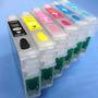 Kit Cartucho Recargable Compatible Para R270 R290 Rx610 T50