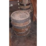 Barril De Madera Roble Cerveza Antiguo