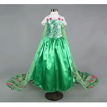 Disfraz De Elsa Nueva Version Para Niñas De 4 Y 5 Años