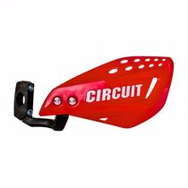 Par De Protetor De Mão Circuit Vector Vermelho - Haste Nylon