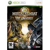 Mortal Kombat Vs Dc Universe - Xbox 360 De Midway Juegos