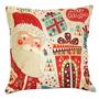 Life365 Colorful Christmas Santa Claus Standard Cotton Line