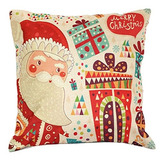 Life365 Colorful Christmas Santa Claus Standard Cotton Line