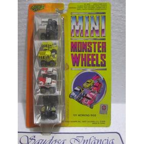 Mini Monster Wheels Estrela Set 101 Caminhões Único Venda