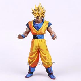 Boneco Dragon Ball Goku Action Figure Estatua 23 Cm