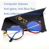 06a2e7bc3f71f Óculos Feminino Com Lentes Ant Blue Para Computador