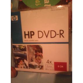 Cd Mini Dvd-r Hp 30 Min / 1.4 Gb, Precio Por Unidad