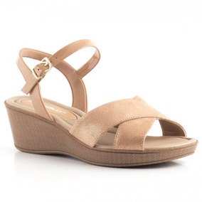 Sandalias Taco Chino Nude Marca Piccadilly Art. 540217