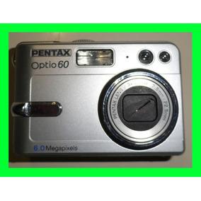 Cámara Fotográfica Digital Pentax Optio 60 / E40 Para Repues