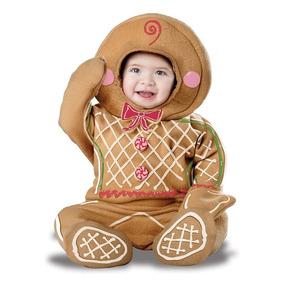 Disfraz Navidad Galleta De Gengibre Duende Bebe Pino Angel