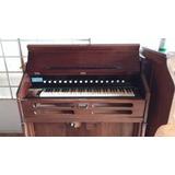 Piano Harmonio Com Fole Da J. Edmundo Bohn Raro - Modelo 5