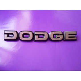 Emblema Cofre Dodge Ram Charger Camioneta Original Letras