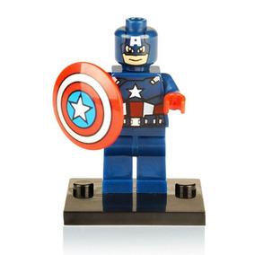 Lote De3 Figuras Compatible Lego Batman Capitan Hombrearaña