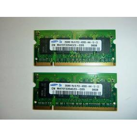 Memorias Samsung Pc2 256mb 1rx16 4200s Laptop